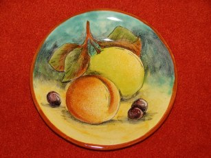 Mayolica Fruit plate